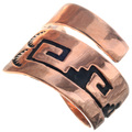 Navajo Overlaid Copper Ring 33287