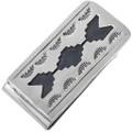 Navajo Geometric Pattern Money Clip 33313
