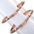 Native American Copper Navajo Bracelet 33325