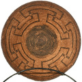 Hand Woven Pima Tribe Native American Basket 30500