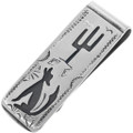 Howling Coyote Money Clip 33359