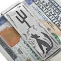 Navajo Made Coyote Design Money Clip 33359