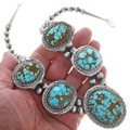 Navajo Turquoise Necklace Set 15690