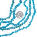 Sleeping Beauty Turquoise Chip Beads 31992