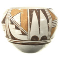 Hand Painted Hopi Polychrome Pottery 33510