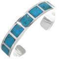 Kingman Turquoise Bracelet with this Turquoise 33419