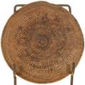 Early 20th Century Navajo Woven Tray Basket 33533