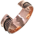 Old Pawn Style Copper Cuff 33600