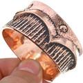 Copper Cuff Navajo Heavy Gauge Bracelet 33600