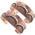 Copper Cuff Navajo Bracelet 33600