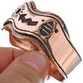 Storyteller Overlaid Copper Curved Edge Bracelet 33601