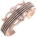 Navajo Hammered Copper Bracelet Ladies Cuff 33603