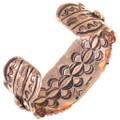 Navajo Copper Starburst Bracelet 33604