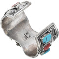 Heavy Gauge Cuff by Navajo Percy Spencer 33624