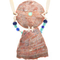Pueblo Shell Bone Necklace Hairpipe Tubes Pony Cowrie Beads 33631