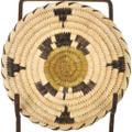 Vintage Papago Indian Turtle Basket 33699