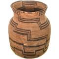 Apache Indian Coiled Jar Olla Basket 33660