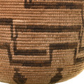 Western Apache Indian Coiled Jar Basket 33660