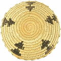 Papago Handmade Shallow Bowl Basket 33870