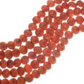 Apple Coral Disc Beads 33439