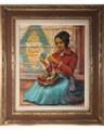 Navajo Woman Portrait 33933