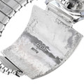 Navajo Made Sterling Silver Watch Artist Signed 33993