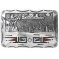 Navajo Storyteller Belt Buckle 34095
