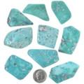Large Aqua Green Turquoise Cabochons 33452