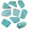 Natural Turquoise Cabochons Freeform Backed 33452