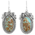 Matching Number 8 Turquoise Earrings 29879