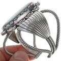 Authentic Bisbee Turquoise Navajo Cuff Bracelet 34137