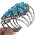 Old Pawn Sterling Silver Turquoise Bracelet 34152