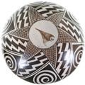 Authentic Sylvia Naha Feather Woman Pottery 34254