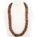 Antique Pipestone Plains Indian Bead Necklace 34268