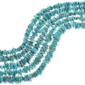 Large Natural Turquoise Freeform Beads 33479