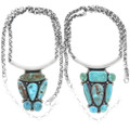 Authentic Royston Turquoise Navajo Western Necklaces 34326