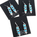 Native American Turquoise Earrings 34357