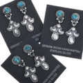 Native American Southwest Turquoise Earrings 34360