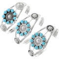 Southwest Turquoise Silver Western Jewelry 34362