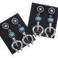 Native American Turquoise Earrings 34363