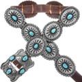 Kingman Turquoise Concho Belt 34373