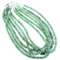 Nevada Variscite Rondelle Bead Necklaces 34392