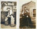 Antique Old West Photo Postcards 34435