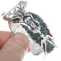 Native American Waterbird Symbol Turquoise Watch 34474