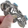 1960s Native American Turquoise Bracelet 34506