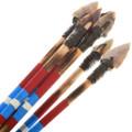 Replica Wood Shaft Arrow Stone Arrowheads 25083
