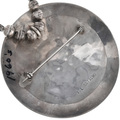 Sterling Silver Zuni Pendant Artist Signed 32907