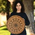 Traditional Geometric Pattern Apache Basket 34630