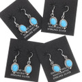 Turquoise Sterling Silver Dangle Earrings 39835