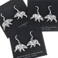 French Hook Bear Earrings 34825